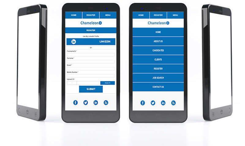 Chameleoni mobile websites - best viewed on a mobile device