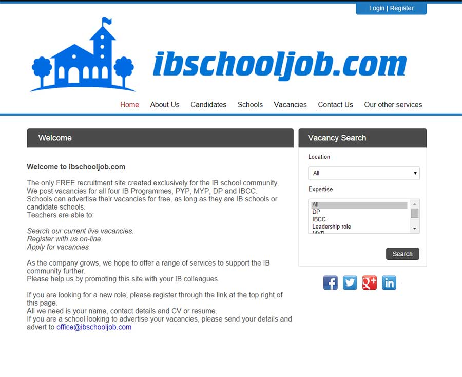News websites chameleoni ibschooljob have chosen to use the chameleon i blueprint module to launch their online presence ibschooljob is a free recruitment site created malvernweather Choice Image