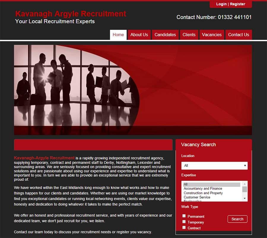 New blueprint website for kavanagh argyle recruitment chameleoni new blueprint website for kavanagh argyle recruitment malvernweather Image collections