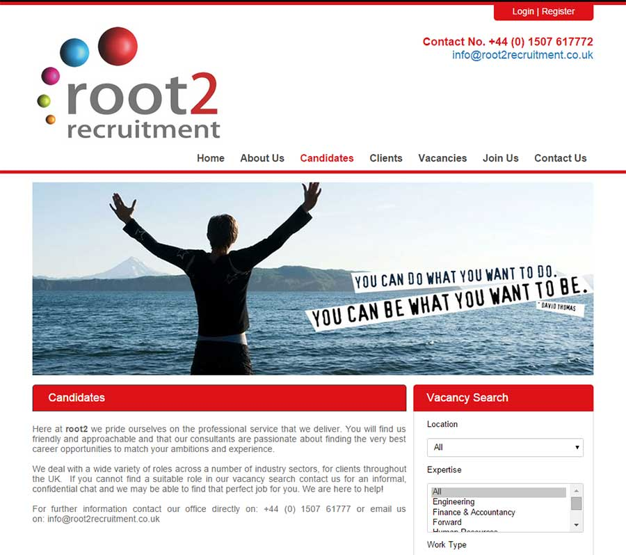 News websites chameleoni new blueprint website for root2 recruitment malvernweather Images
