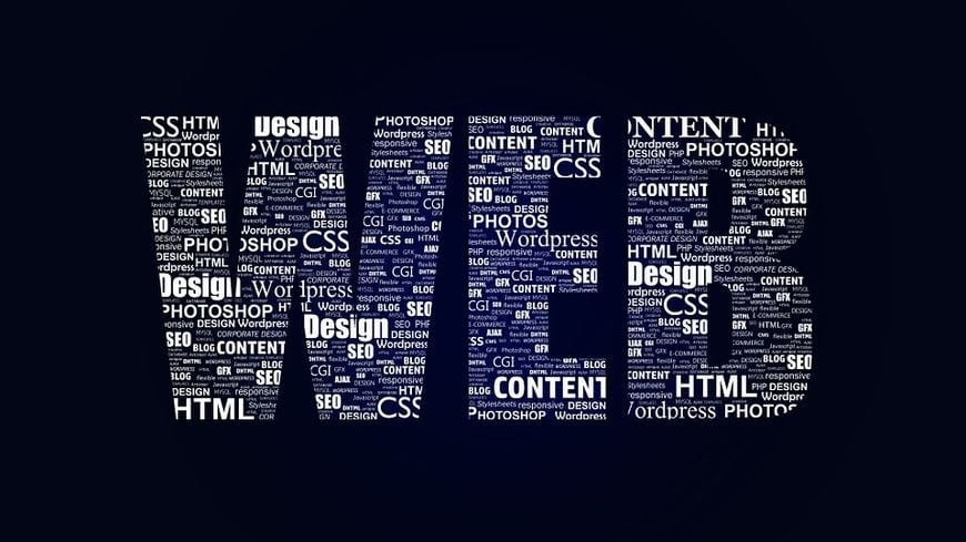 Web lettering
