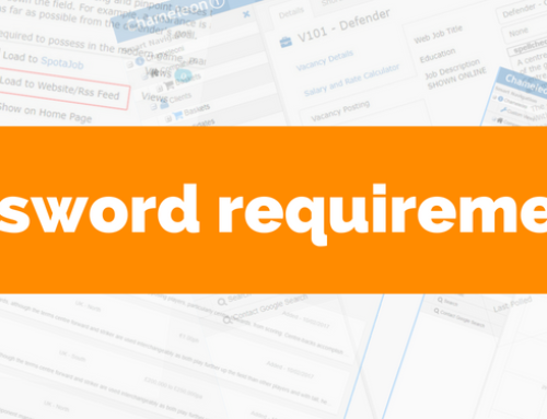 New password requirements to keep you safe + secure