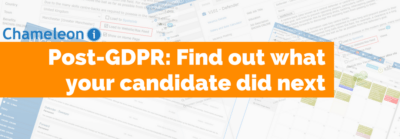 Post GDPR - Find out what your candidate did next - banner
