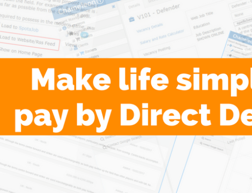 Make life simpler + pay by Direct Debit