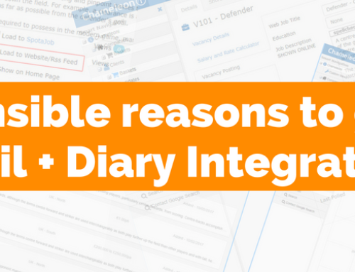 Make life easy with E-mail + Diary Integration