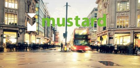 Mustard website screenshot
