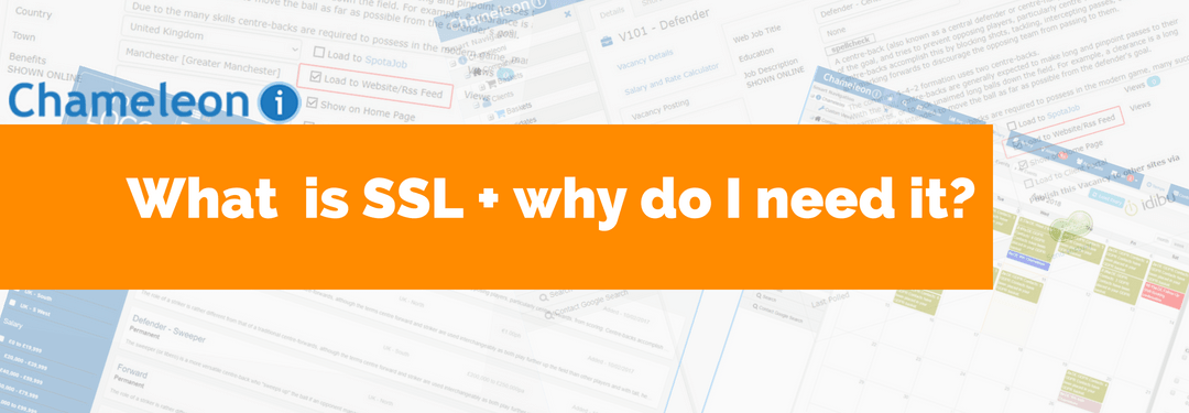 What is SSL and why do I need it banner