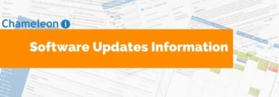Software Updates Information Banner