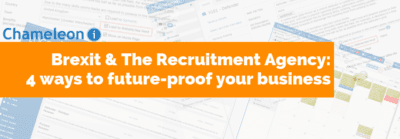 Brexit and the recruitment agency orange banner