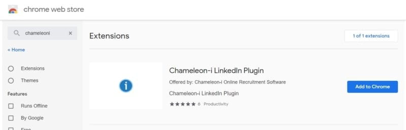 Chameleon-i linkedin plugin orange banner