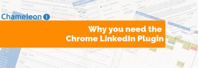 Chrome linkedin orange banner