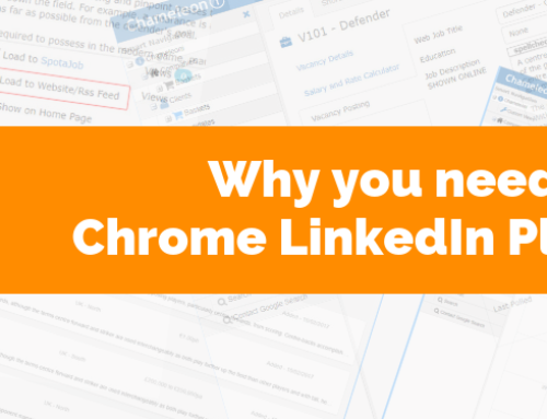 Why you need the Chrome LinkedIn Plugin