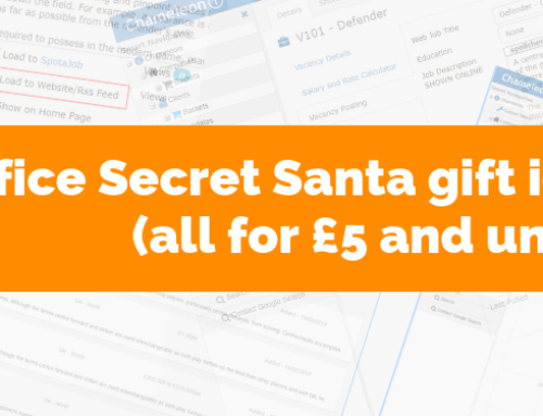15 Office Secret Santa gift ideas (all for £5 + under)