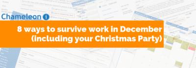 8 ways to survive work in December