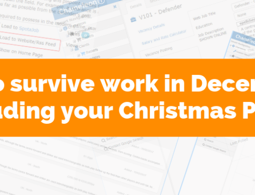 8 ways to survive work in December