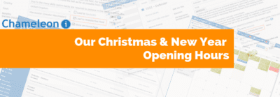 Christmas and New Year opening times banner
