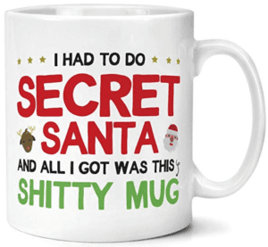 I had to do secret santa mug