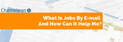 What is Jobs By E-mail And How Can It Help Me banner