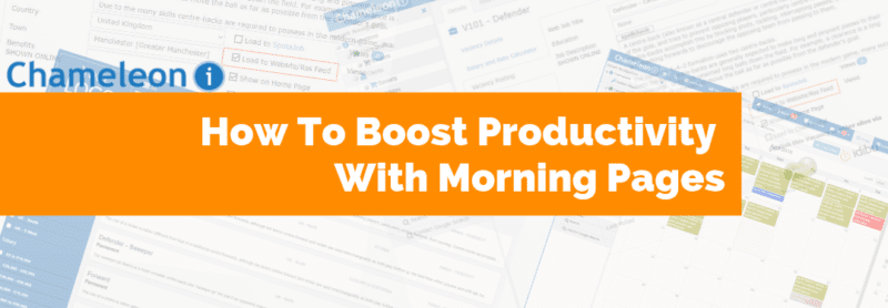 How to Boost Productivity with Morning Pages