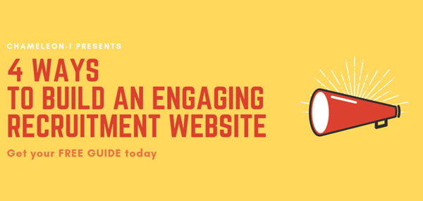 Engaging recruitment websites banner