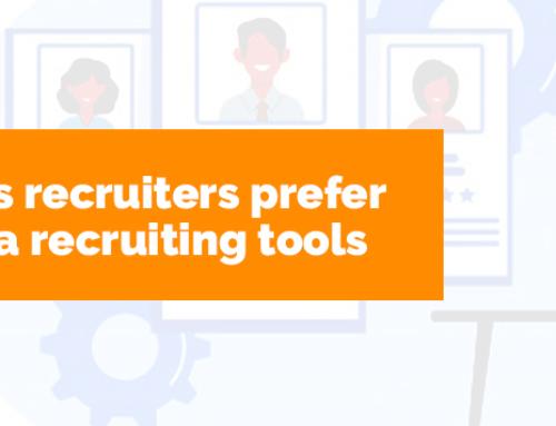 Five Reasons Recruiters Prefer Social Media Recruiting Tools