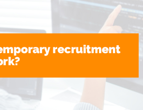 How does temporary recruitment software work?