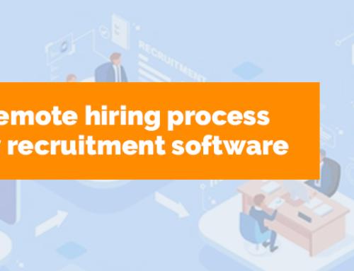 Simplify the remote hiring process via temporary recruitment software