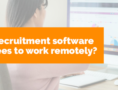 Does online recruitment software help employees to work remotely?